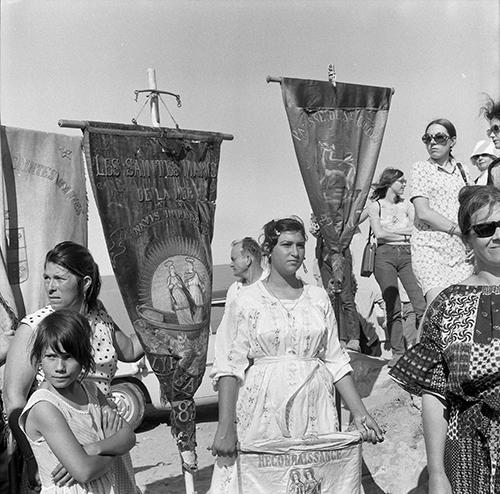 Santes Maries de la Mar. La Camarga, França, 1962