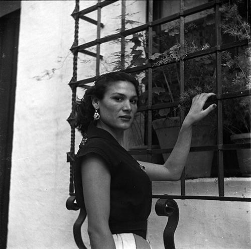 Rosario Amaya, <em>ca.</em> 1950