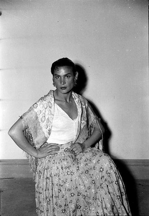 Rosario Amaya, <em>ca.</em> 1956