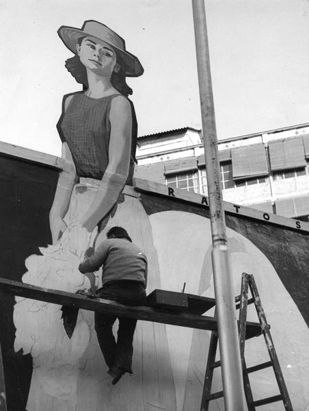 Paral·lel. Barcelona, ca. 1958