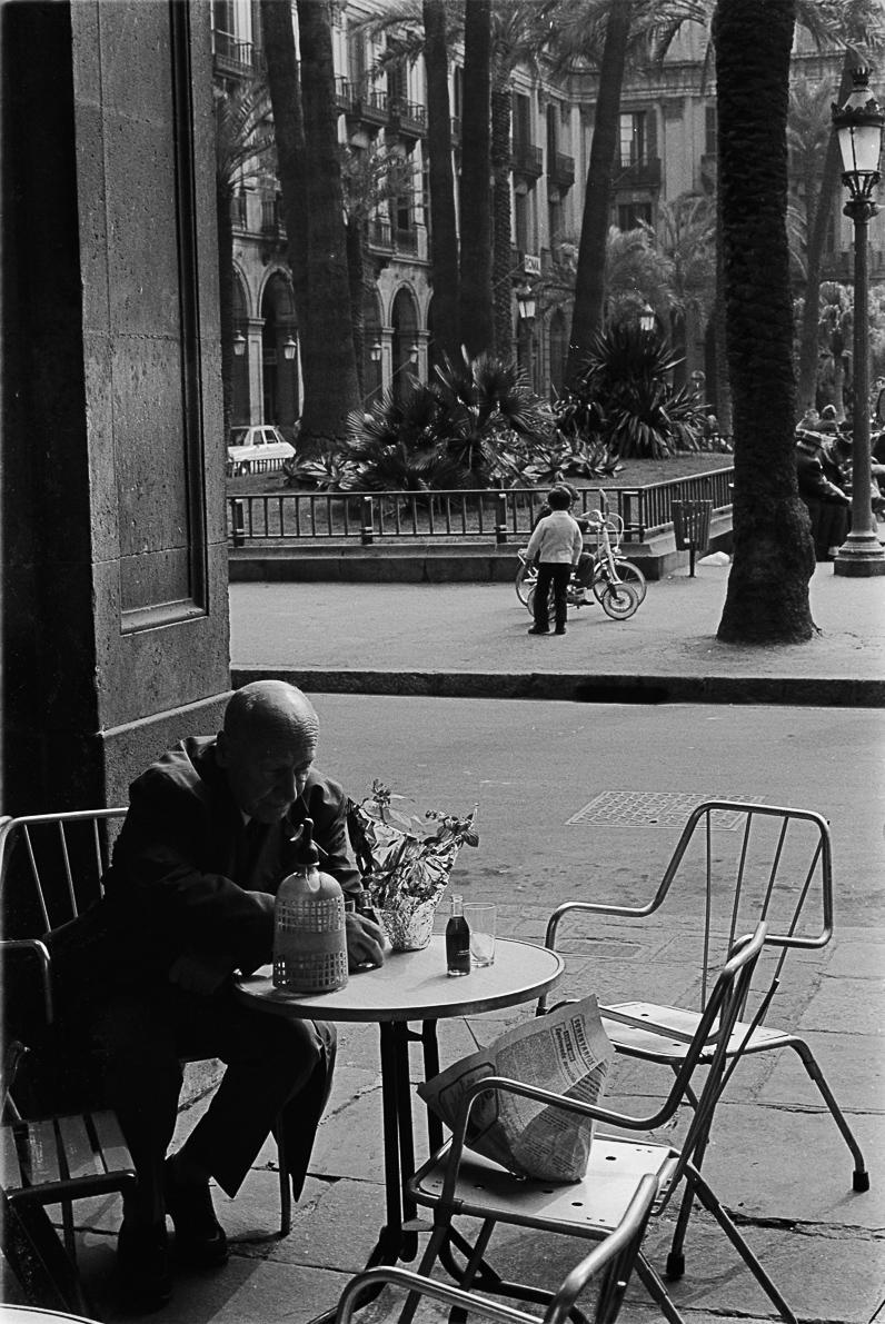 Plaça Reial. Barcelona, ca. 1970