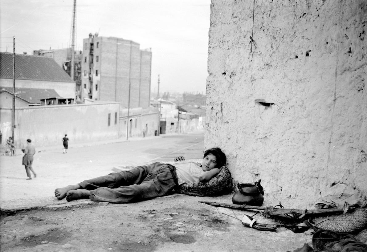El tío José. Monjtuïc. Barcelona, ca. 1950