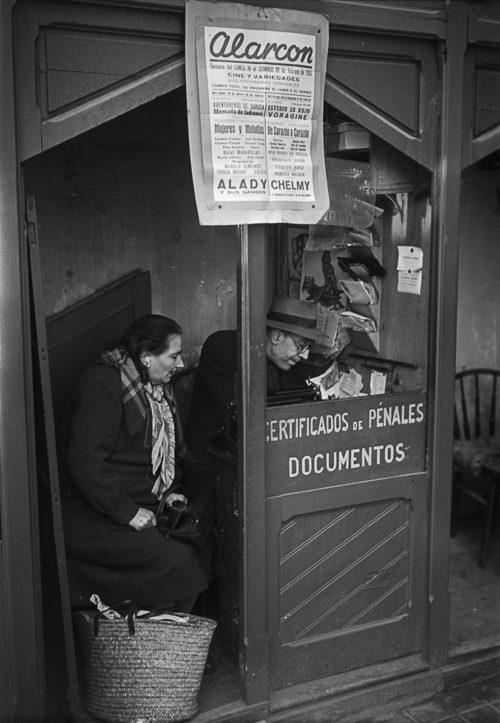 Plaça Reial. Barcelona, 1952