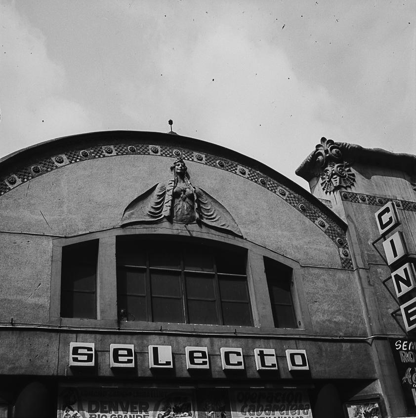 Cinema Selecto. Gran de Gràcia. Barcelona, ca. 1960