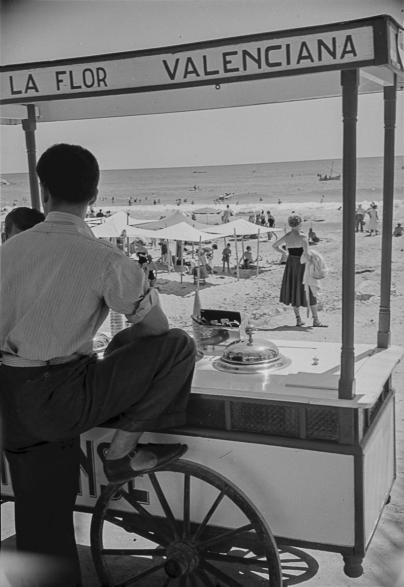 Sitges. Barcelona, 1954