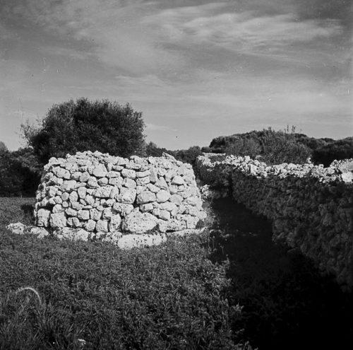 Murs de pedra seca. Menorca, <em> ca.</em> 1960