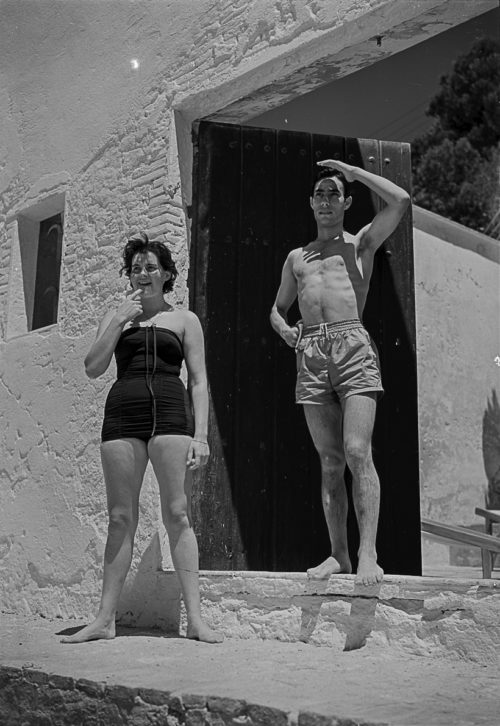 Chamaco. Casa d'Alberto Puig Palau. Platja de Castell. Palamós. Girona, 1954