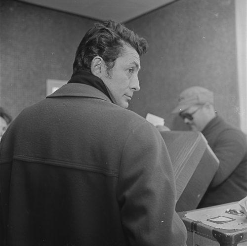 Jean Claude Pascual. Aeroport del Prat. Barcelona, 1959