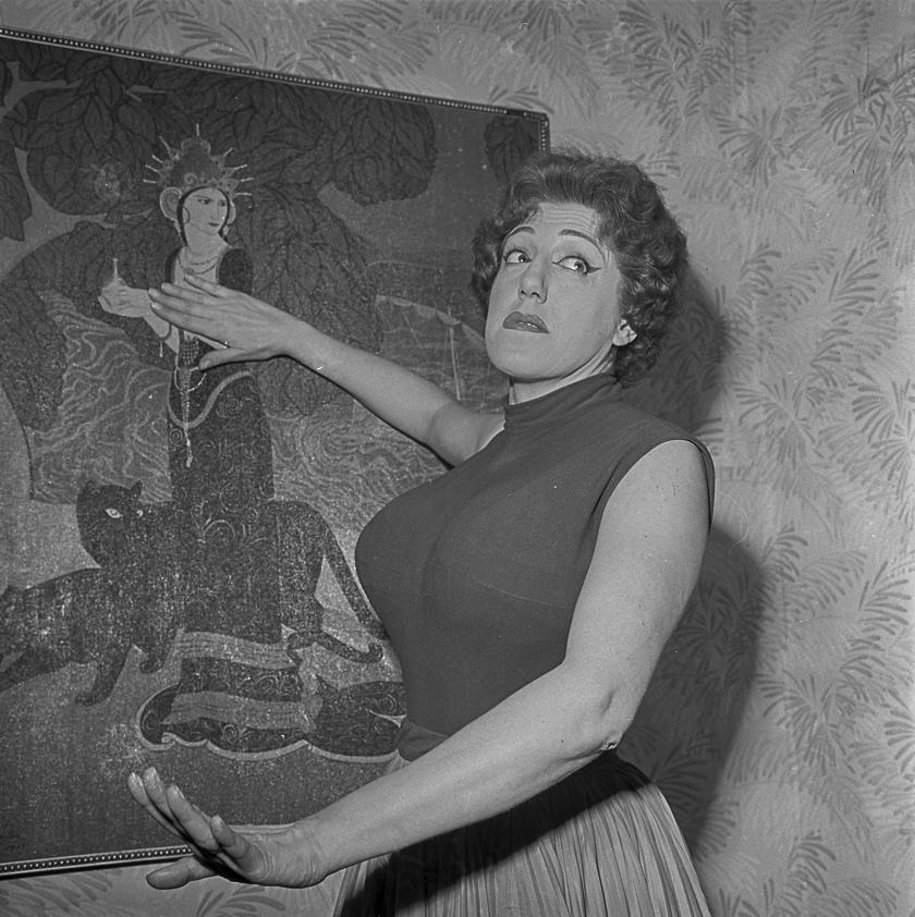 Mary Santpere, Barcelona, 1959