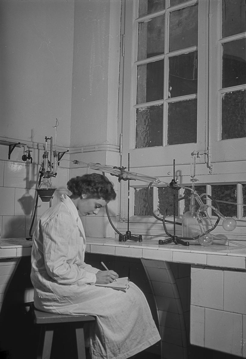 Escola de Treball de Barcelona. Barcelona, 1955