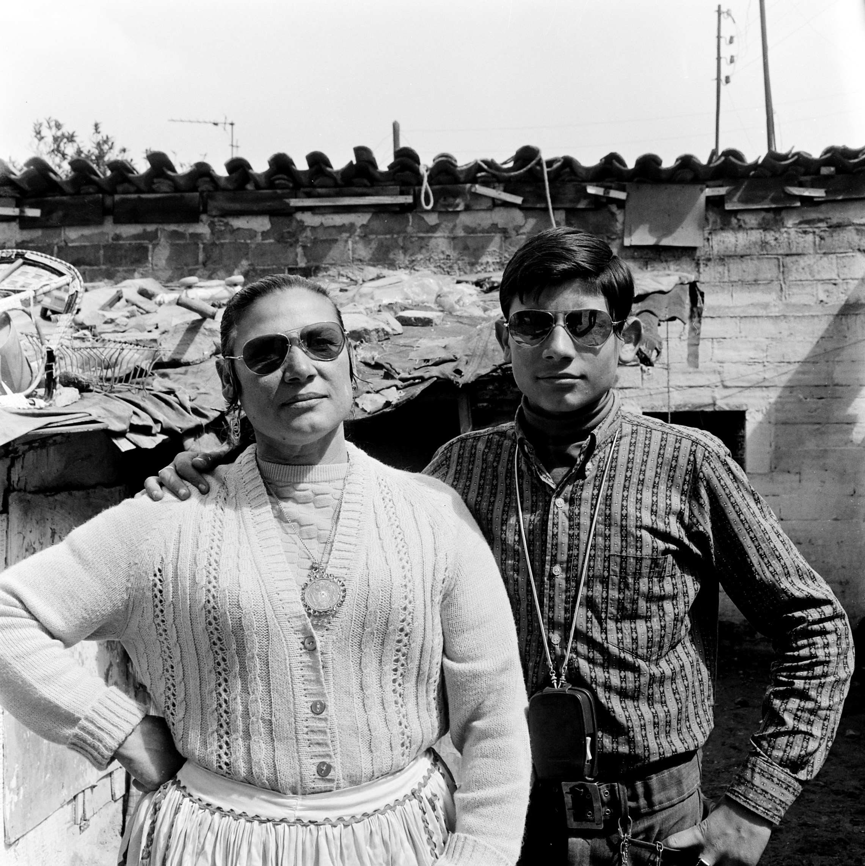 Rosario Amaya i El Loli. Montjuïc. Barcelona, 1970