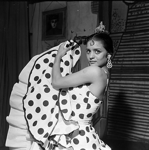 La Chunga. Barcelona, 1958